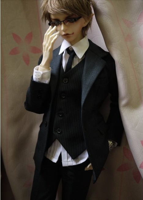 1 / 3 points BJD baby clothes pattern for man Western clothes uncle size 1:1 cut sewing book buy 3 free 1