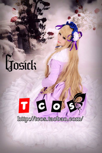 TCOS 1258 GOSICK Gothic Lolita detective event Victoria american cosplay cos clothing
