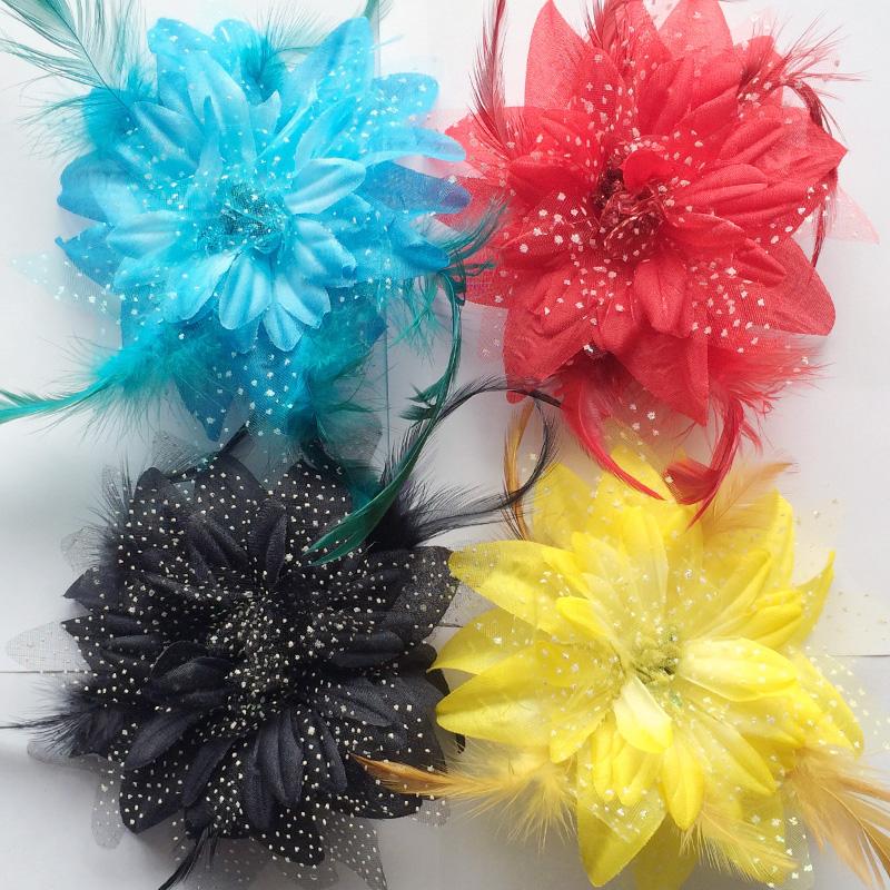 Современный танцевальный цветок Латинская страна стандартный Спектакль Конкурс костюмов Танцевальный головной убор, аксессуары, аксессуары для одежды Flower