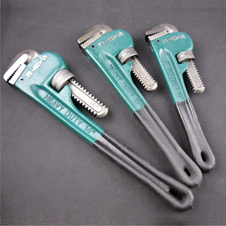 SD/胜达 重型管子钳 水管安装钳子/装修五金工具 管钳 8-48寸包邮