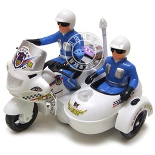 Electric police car toys for children electric motorcycle police light music sound and light children electric toy car
