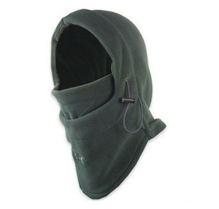 360 cs double hooded fleece hat scarf caught balaclavas caps versatile ultra warm windproof hat upgrade