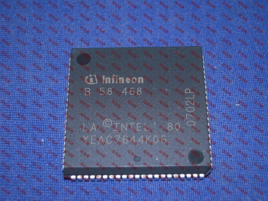 发动机电脑板CPU B58468 PLCC84原装进口汽车电子配件电子芯片