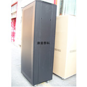 19 inch Cabinet Black 2 m 600*800*2000 Server cabinet doors before and after washed mesh Cabinet