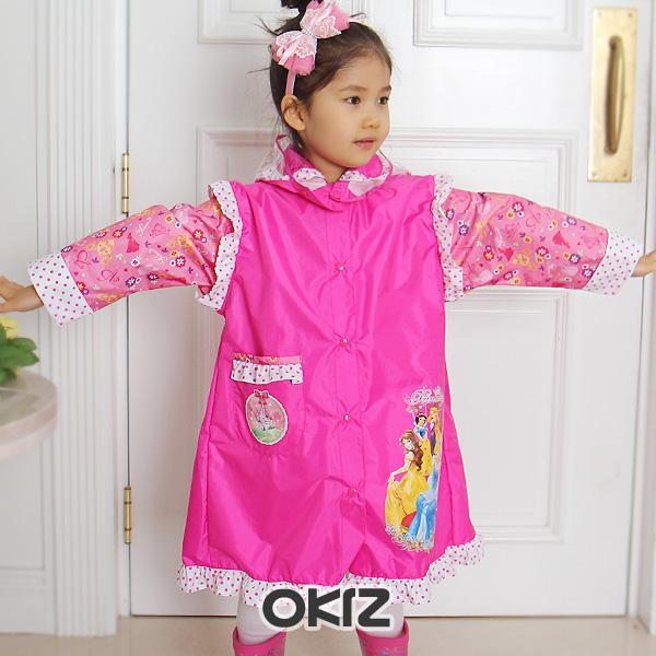 新款 韩国进口正品代购 女童可爱雨具/防雨/防潮>>雨披/雨衣G0342