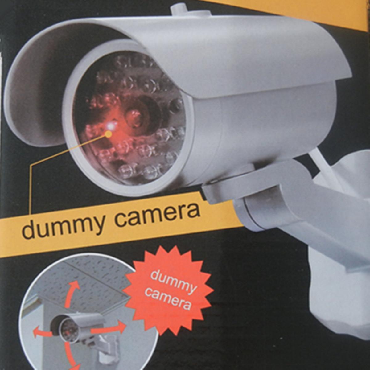 «ЛП» высокой Имитация камеры поддельные безопасности камеры водонепроницаемый монитор лампа безопасности реальные акции