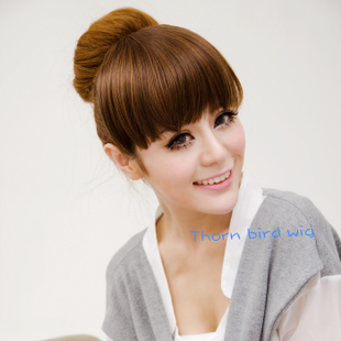 The Thorn Birds Girls no temples ping Liu Qi Liu hair piece wig false bangs bangs hair extension piece