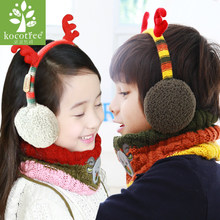 South Korea KK children earmuffs tree in winter to keep warm the new private cute baby ear protection cover ears set of 3 d