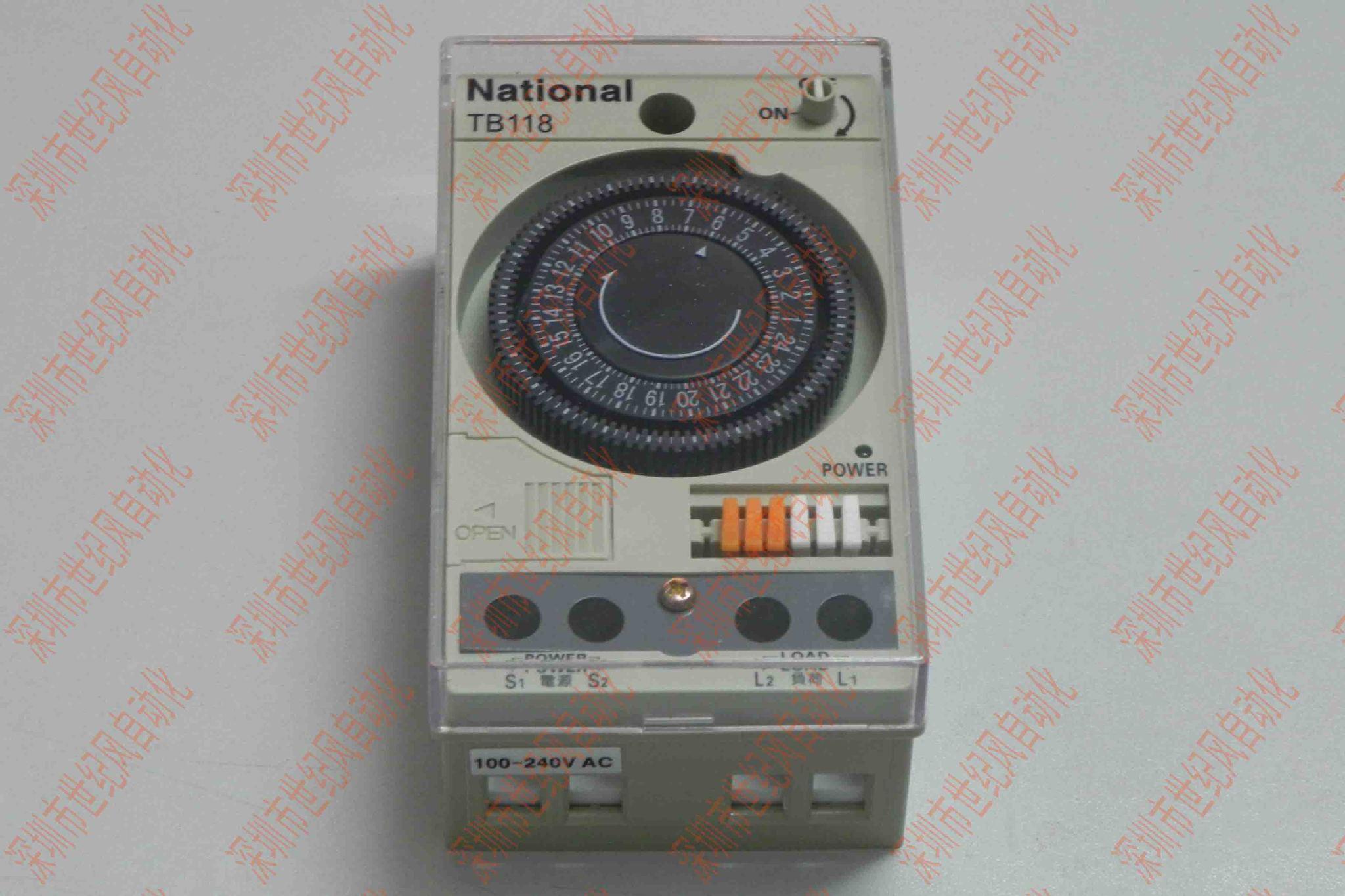定时器松下电工 定时器TB118 定时开关 时间控制器 定时器 新品
