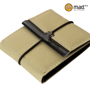 mad simple canvas cloth money in Europe and America Japan and Korea Male student youth youth fashion casual retro short paragraph wallet