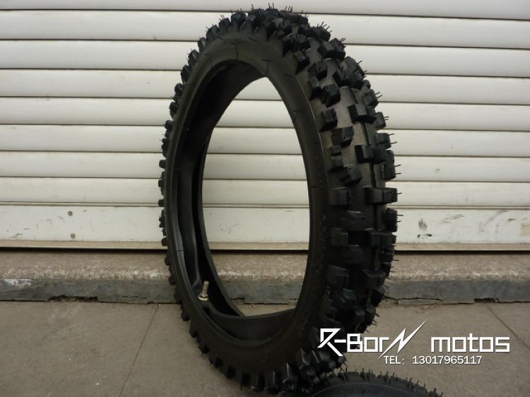 利邦摩配:60/100-14寸越野摩托车轮胎/越野胎/深齿越野车前轮胎