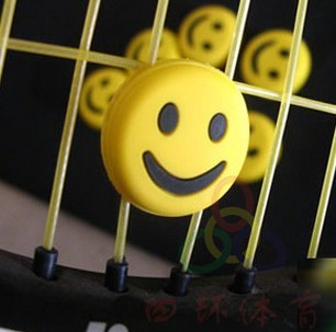 Cheap Tennis racket shock absorbers shock smiley face effective natural rubber