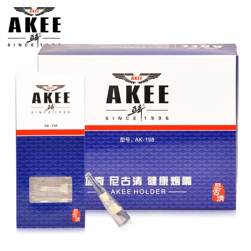 亞奇 正品 煙嘴拋棄型雙重過濾煙嘴AK~198 100支拋棄型煙嘴