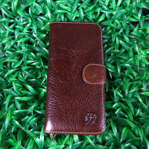New authentic Hippies top layer crystal cowhide Korean fashion mens wallet mens wallet