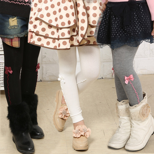 Beautiful doll show 2015 autumn new female children s clothing children s wild child pantyhose stockings leggings boots pants A1