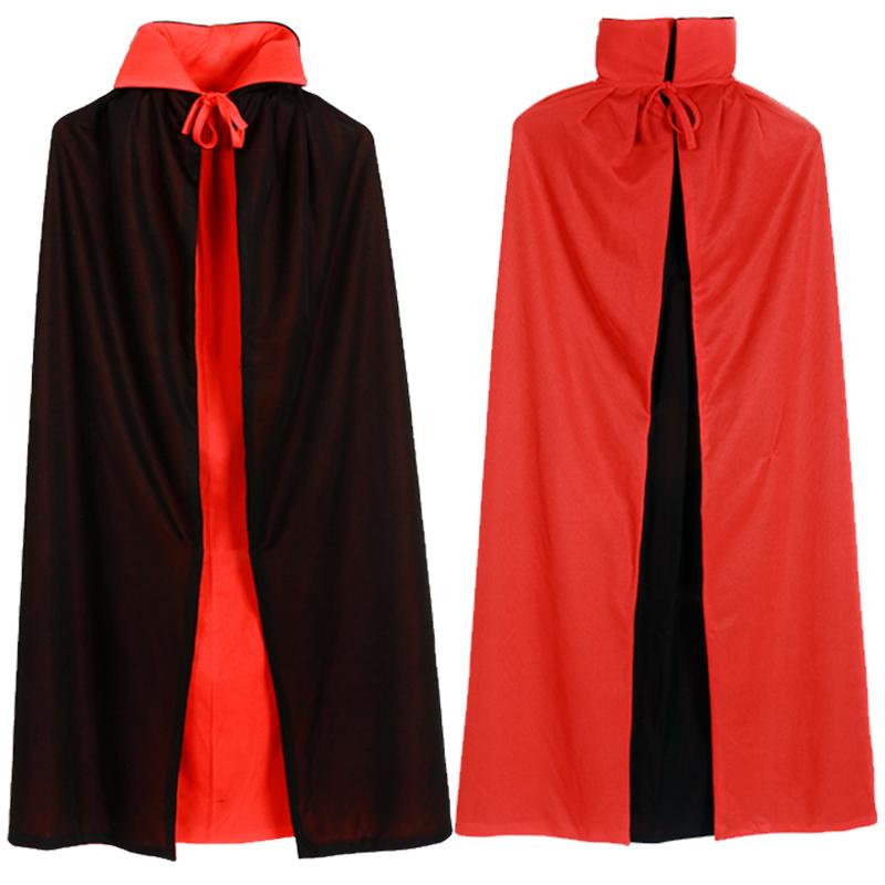 万圣节服装成人儿童披风女巫黑红死神斗篷巫婆吸血鬼cosplay舞会