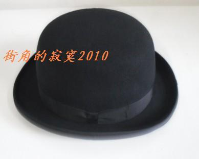 Foreign trade boutique manufacturers direct 100% pure wool Bowler Hat Womens hat bowler hat