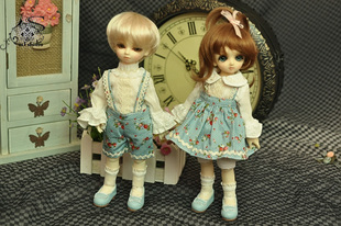 M3 STUDIO BJD1 6 blue stalk kindergarten male female suit
