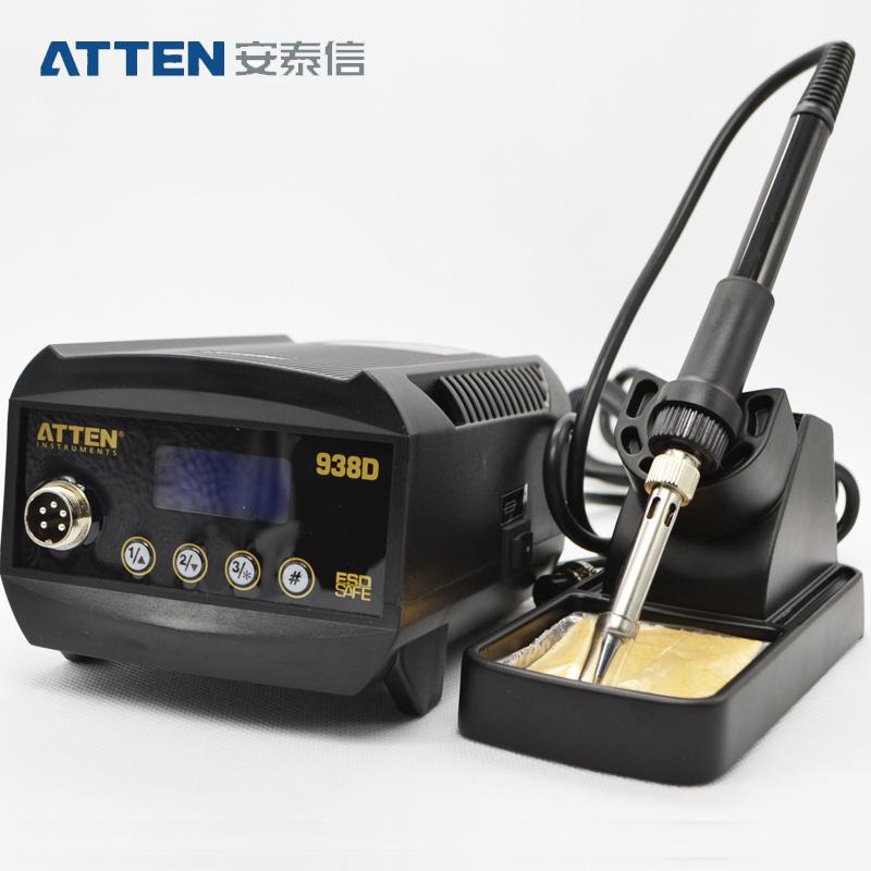 安泰信焊台 数显无铅调温防静电焊台 调温电烙铁 AT938D