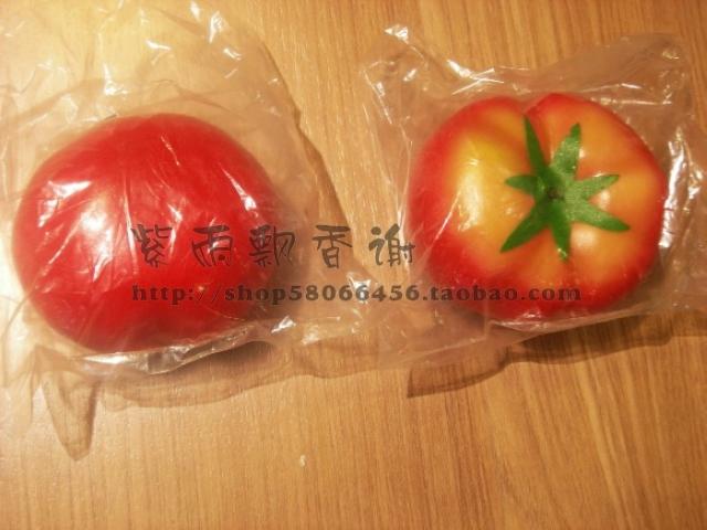 仿真水果蔬菜 迷你菜果园  仿真西红柿假西红柿 室内菜园农场番茄