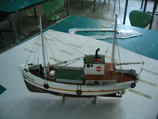 ARTUR号 阿图尔号 挪威拖网渔船 航海模型套材(不含遥控)