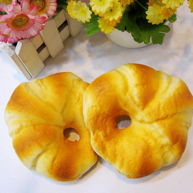 PU高仿真面包食品模型 创意假面包幼儿园教具摄影道具橱柜配饰
