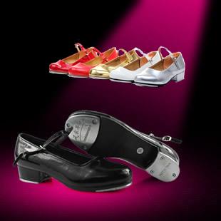 Удар протектор обувь дочь ребенок танец обувной бант яркая кожа танцы обувной круглый слой краски для взрослых удар протектор обувной