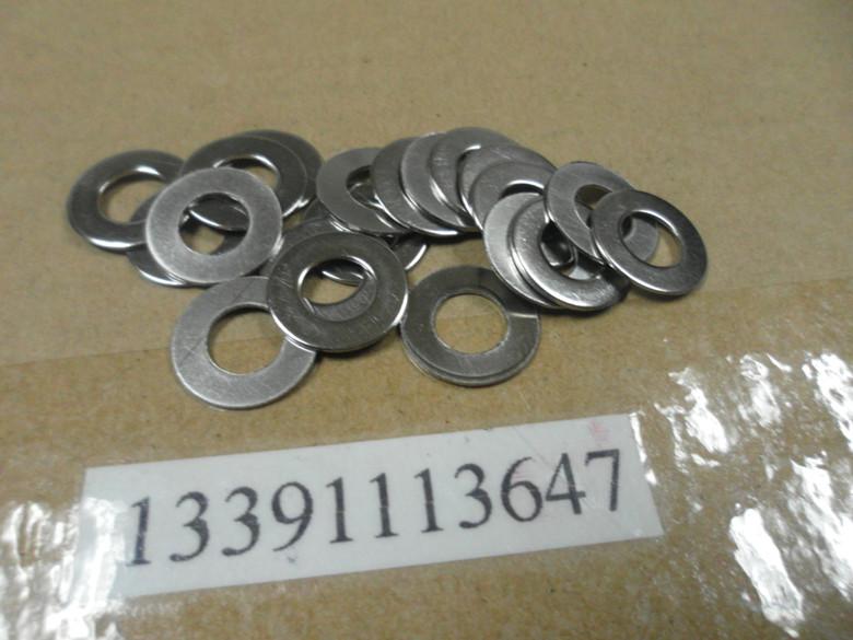 不锈钢平垫 不锈钢垫圈 M2-3-4-5-6-8-10-12-14--36(100只起卖)