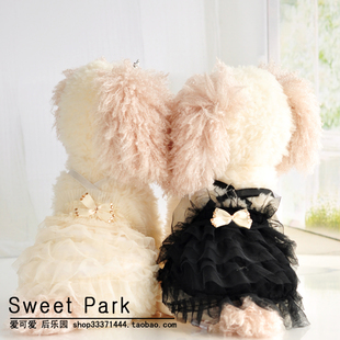 Specials 2013 autumn and winter wedding dress princess Sophie bust cute pet dog clothes clothing couple