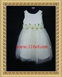 高档可爱公主裙,花童装,主持,演出服装