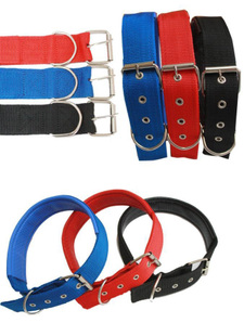 Advanced Foam nylon dog collar pet dog collar neck strap collar