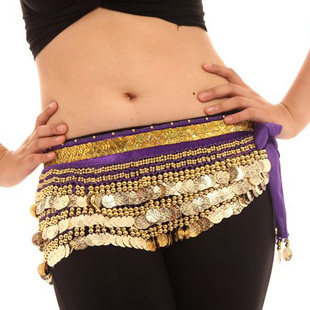 Seok woo Indian belly dance waist chain belly dance costume Latin dance belt Belly dance waist chain girdle female lengthen