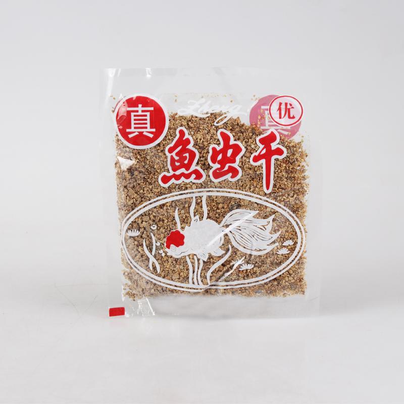 鱼虫干鱼虫干 金鱼锦鲤热带鱼蜥蜴乌龟饲料-锦鲤饲料(兴隆宠物用品专营店仅售1.5元)