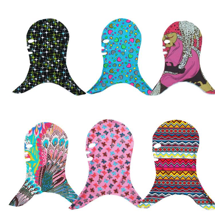 戶外防紫外線男女頭套臉基尼 潛水浮潛遊泳頭套泳帽鬼臉防曬麵罩
