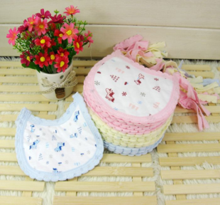 Cotton baby bibs baby bib thick absorbent small bibs