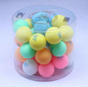 Pisces color Table Tennis whole barrel 36 lottery balls general training with the ball Entertainment