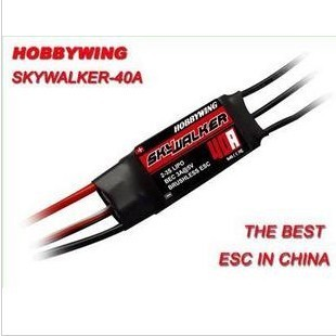 100 authentic Hooray Skywalker SKYWALKER 40A Brushless ESC Brushless ESC wing with joints