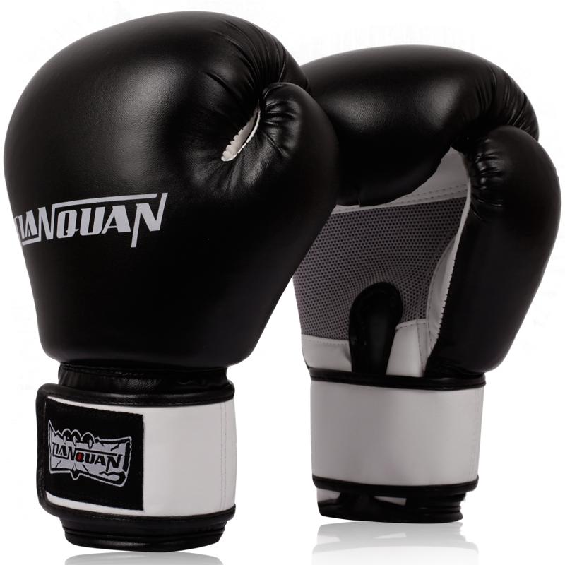 Пробивая мешок взрослых боксерские перчатки перчатки саньда перчатки для детей право на день Cadet Муай Тай профессиональной борьбы бой