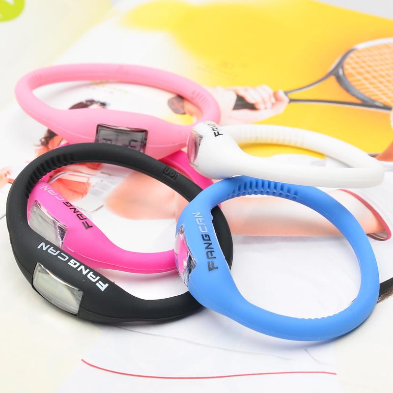 Таблица FANGCAN/клык можно смотреть корейский версии конфеты цветные желе силиконовые часы спортивные часы 176
