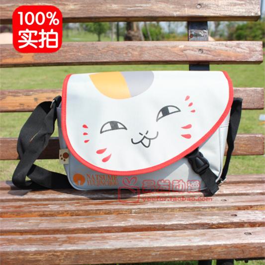 动漫良品正品夏目友人帐周边猫老师学生时尚单肩斜挎背包书包新款