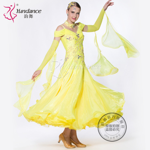Huali Guo Yun dance skirt new performance standard Ballroom dance competition tango waltz professional custom clothing