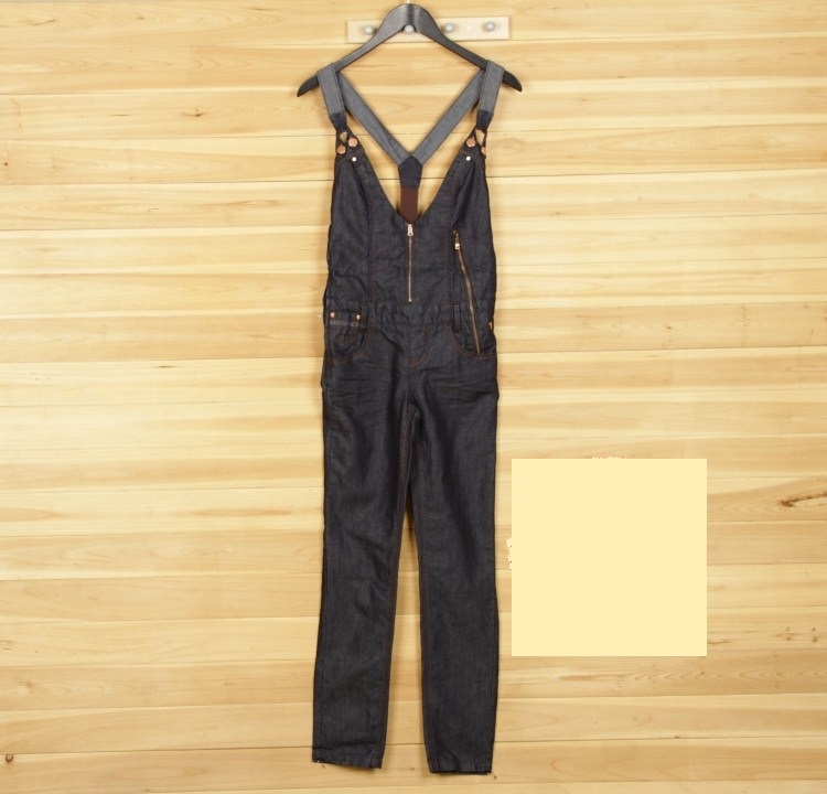 Only shopkeeper authentic clearance throw spring new small leg jeans pregnant womens suspenders Jumpsuit