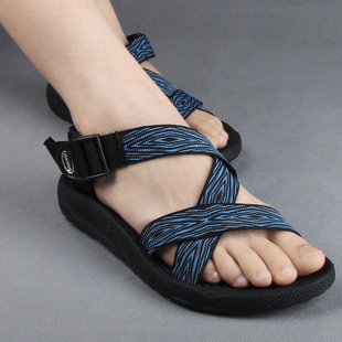 Special clearance summer sandals men and women couple casual flat sandals Roman shoes trend fashion cross belt