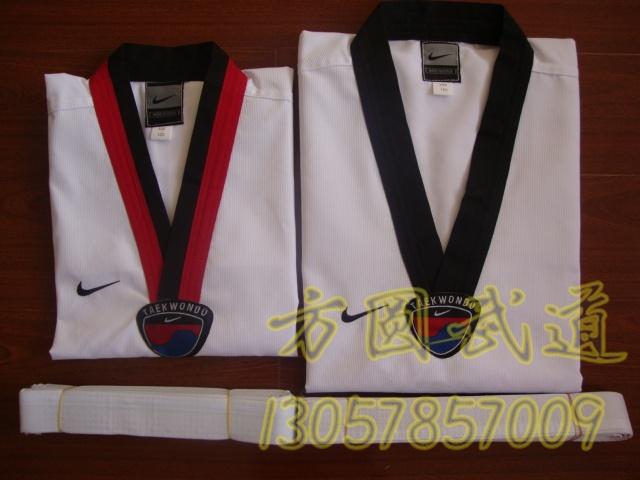 Тхэквондо одежда специализируется на детей/взрослых полный тхэквондо GI, 110-190 Nike полиэстер хлопок ткань