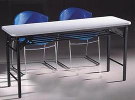 特价折叠桌 培训桌 休闲桌 长条桌 阅览桌折叠式培训桌图片