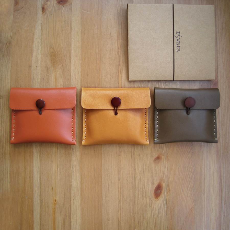 Top leather wallet real leather bag / coin bag storage bag pure handmade defective goods special price over 50 packets