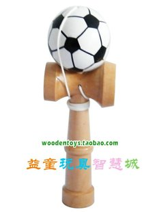 Football Kendama bite Aunt sword ball skills ball sword jade CUP BALL adult students educational toys