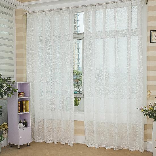 Роскошные жаккардовые шторы гардины шторы сплошной цвет готовой спальни гостиной балкон утолщена, затенение пряжи ткани распродажа скидки