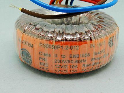 英国原装进口talema环牛50W环形变压器50va双9V/12V/15/18/25