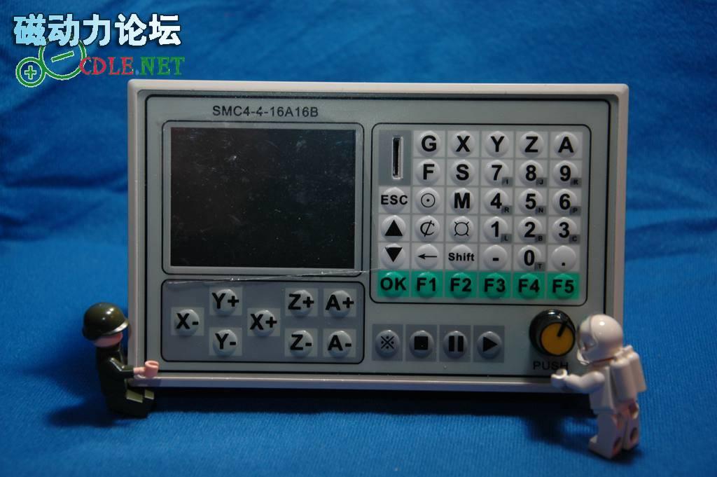 CNC engraving machine stepper servo controller 3 -axis 4-axis motion  controller offline controller
